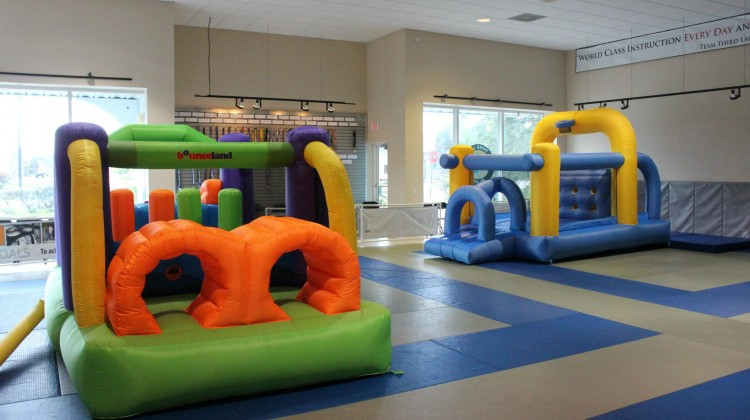 Bounce House Fun with Naples Best Summercamp