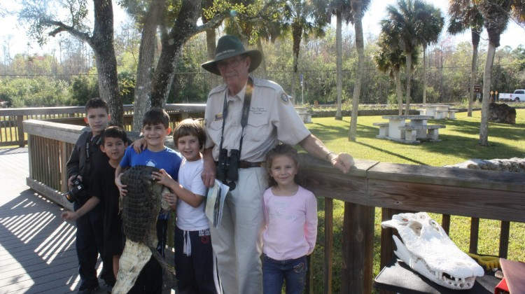 Alligator Sighting and Learning with Park Ranger – Naples Best Summer Camp