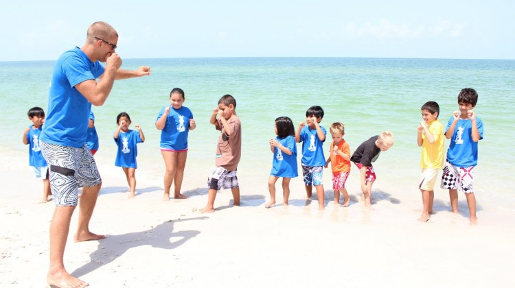 Lowder Milk Park Beach Muay Thai Kickboxing Naples FL Summer Camp