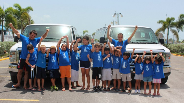 Two Vans Full Of Summer Campers – Naples Best Summer Camp